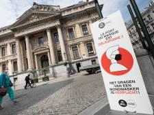 Le nombre de nouveaux cas continue de grimper à Bruxelles, vers un port du masque généralisé?