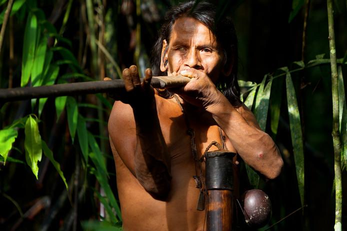 Curare wordt door Zuid-Amerikaanse indianen gemaakt voor en gebruikt tijdens de jacht.