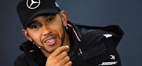 Hamilton: Ik denk nog niet aan mijn vijfde wereldtitel