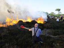 Door droogte grote kans op duinbranden
