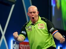 Van Gerwen wint European Darts Open na ninedarter in halve finale