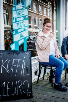 'Heerlijk bakkie koffie voor maar 1 euro, mooier kan niet'