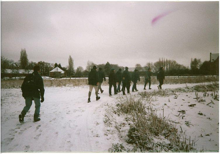 Beelden van de Boerenkrijgtocht uit 1998.