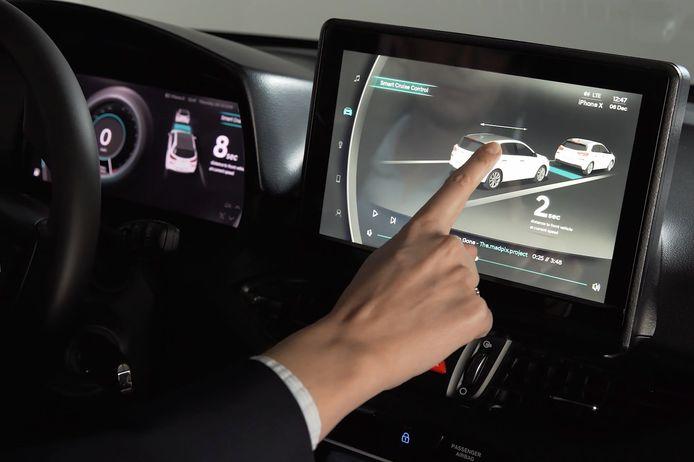 Hyundai virtual cockpit