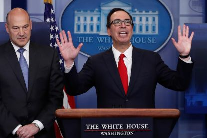 Regering-Trump ontvouwt belastingplannen