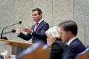 CDA-Kamerlid Martijn van Helvert tijdens een eerder debat in de Tweede Kamer.