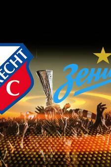 FC Utrecht hoopt op stunt tegen Zenit