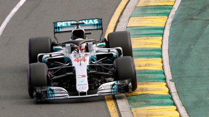 Lewis Hamilton knalt in eerste kwalificaties naar de polepositie in GP van Australië, Vandoorne twaalfde