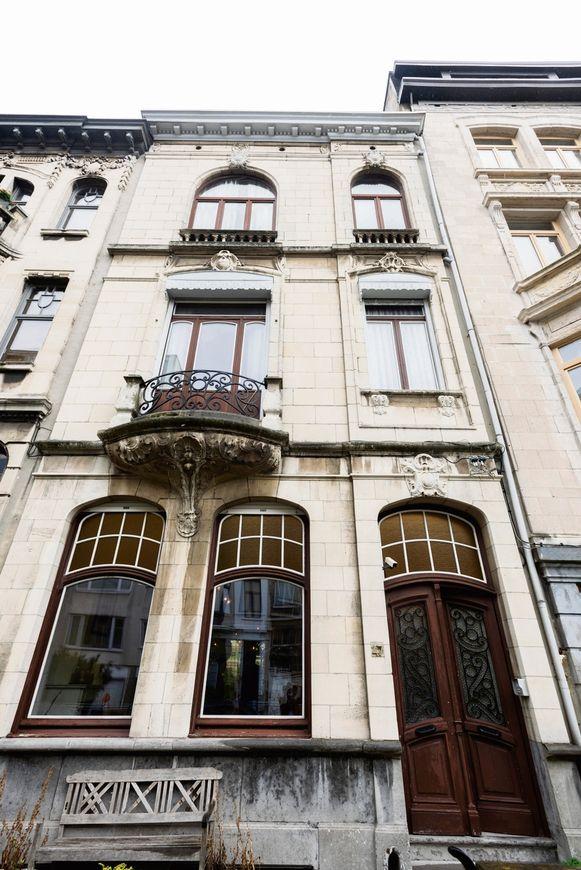 Het huis in Beaux Arts-stijl staat in het interieurboek van architect Jules Hofman.