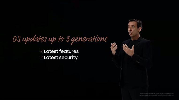 Screenshot van Samsung Unpacked (5 augustus)