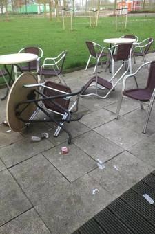 Excuses van 'terrashangers' cafetaria De Boulevard in Gorinchem