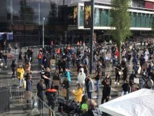 LIVE   Jaarbeursplein Utrecht loopt langzaam vol voor Black Lives Matter protest