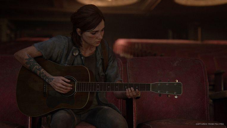 Ellie, de heldin van 'The last of us 2' Beeld