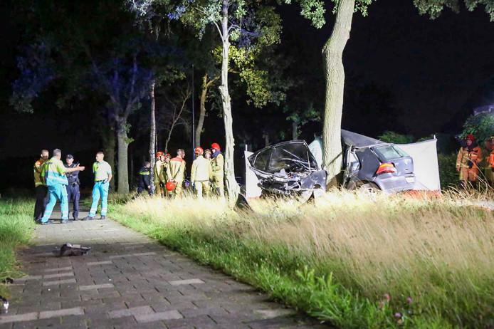 Dodelijk ongeval in Lage Mierde.