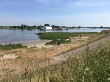 Strandje van Ameide krijgt 'make-over' met picknicktafels en fietsenstalling