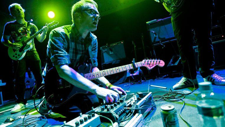 De Nederlandse band Moss in 2010 tijdens een optreden in Paradiso. Beeld ANP