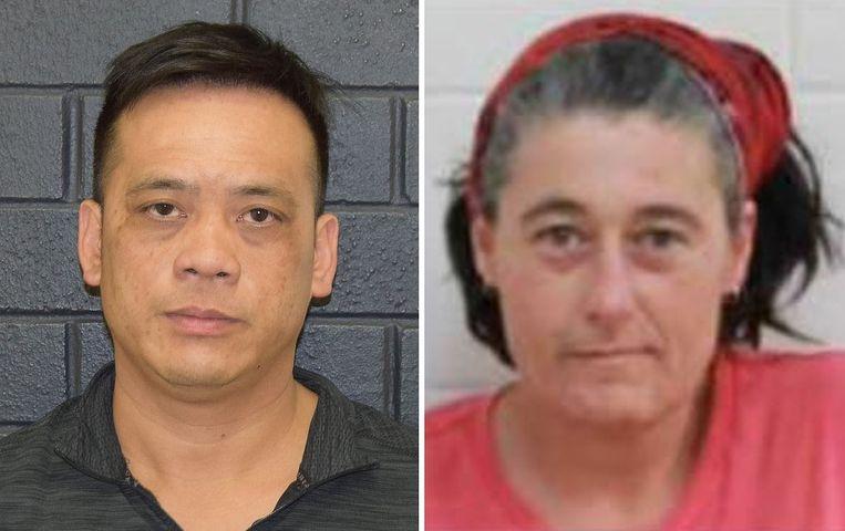 Phu Tran (links) werd gisteren levend teruggevonden. Vandaag werd een lichaam aangetroffen, dat nog niet geïdentificeerd is. Gevreesd wordt dat het om Claire Hockridge (rechts) gaat.