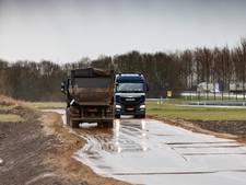 Weer vertraging aanleg logistiek Park Moerdijk