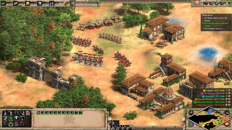Ik hou ervan om mijn stad geduldig op te bouwen en mijn legers uit te bouwen.