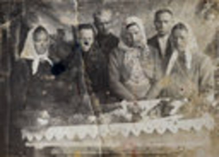 Een begrafenis in de Altaj-regio Beeld Claudia Heinermann