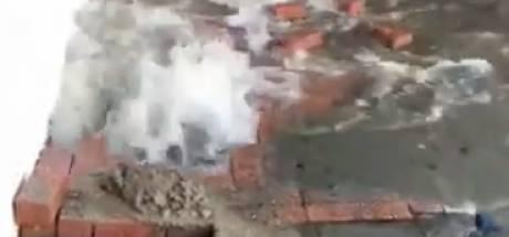 Capellenaren nog steeds zonder water na gesprongen leiding