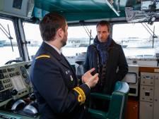 Ontslagnemend defensieminister Goffin bezoekt marinebasis in Zeebrugge