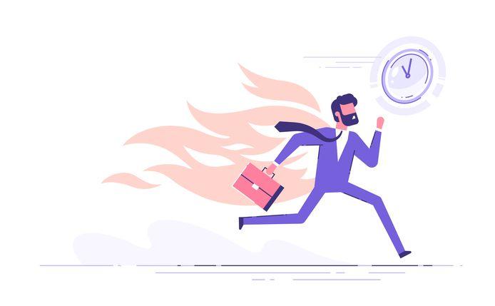 Afbeelding ter illustratie. Ben jij ook altijd druk, druk, druk? Met deze tips van stressexpert Thijs Launspach maak je meer tijd vrij voor wat er echt toe doet.