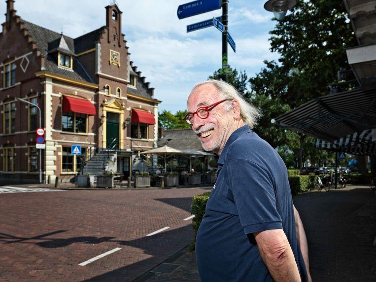 Leo Janssen schreef veel verhalen over de eigenaardigheden van het dorp. Beeld Martijn Steiner Lovisa