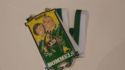 De nieuwe pin en medaille van de Bommels