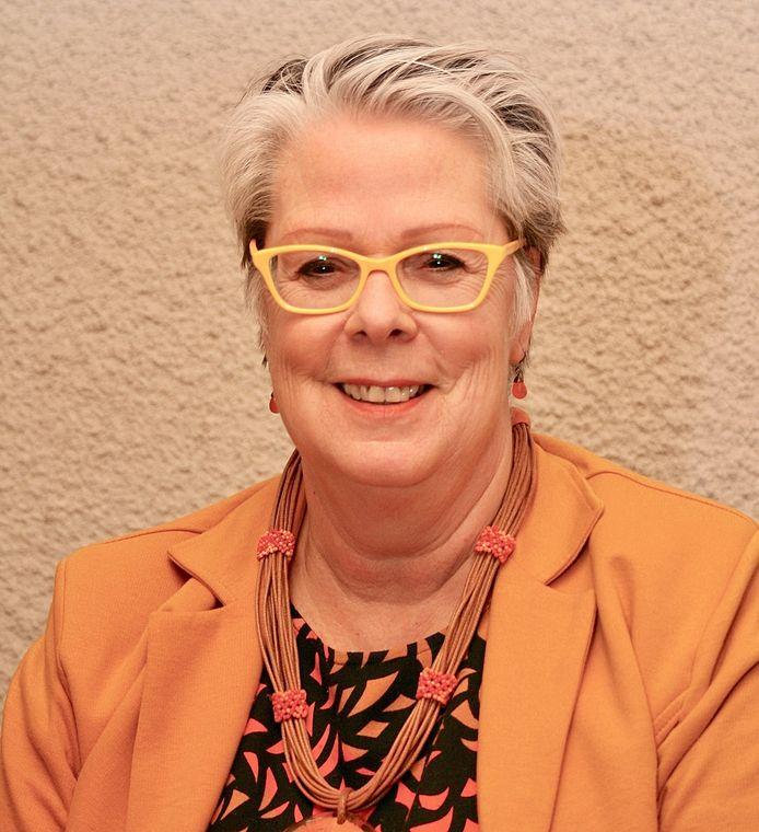 Burgemeester Jeannette Zwijnenburg van de gemeente Haaren.