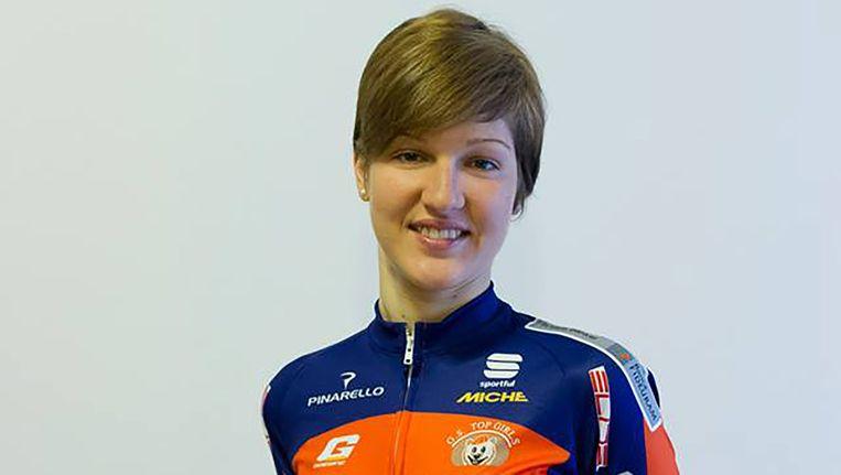 Chiara Pierobon. Beeld  Top Girls Fassa Bortolo
