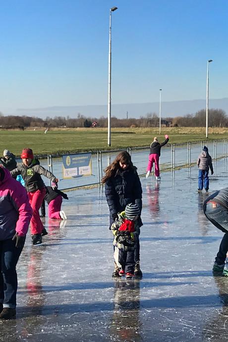 Geen schaatspret vanmiddag op Voorne-Putten