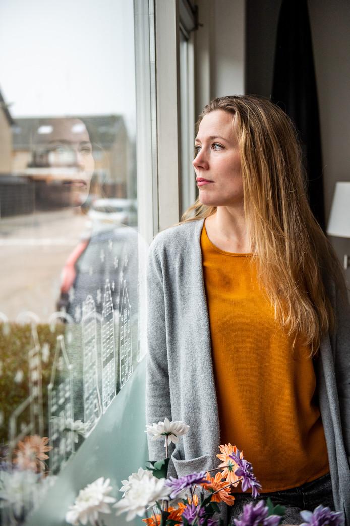 Legustha Andriessen blijft vechten voor de toekomst van haar dochter.