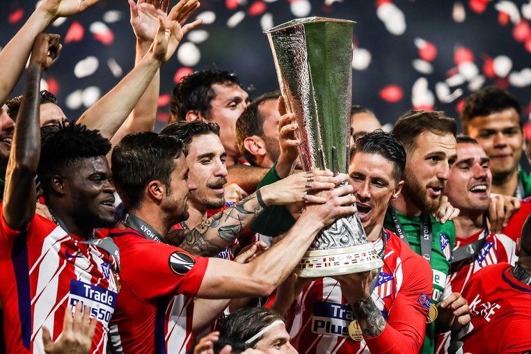 Atlético wint zijn derde Europa League.