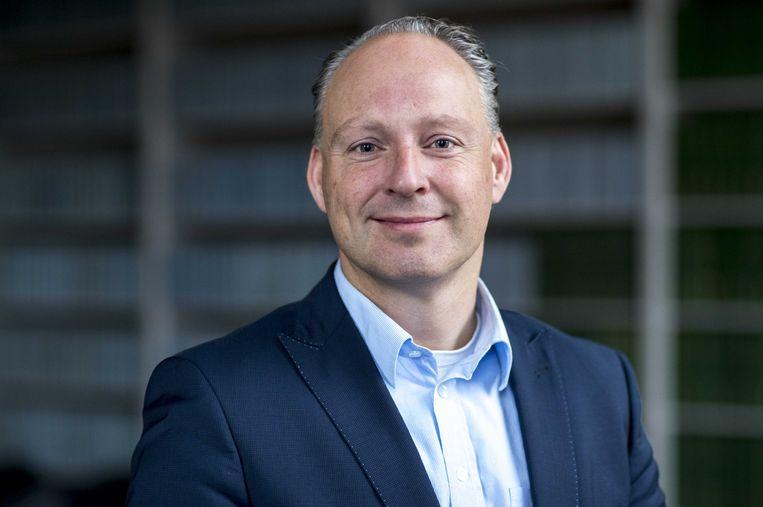 Remco Dijkstra, Tweede Kamer-lid voor de VVD.  Beeld ANP - Jerry Lampen