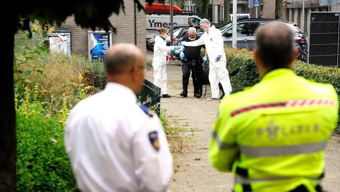 Stefan Regalo Eggermont werd in 2014 doodgeschoten in zijn auto in de Conradstraat.