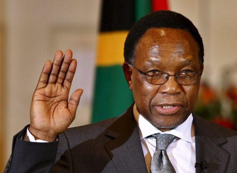 Molanthe moet waarschijnlijk in april wijken voor Jacob Zuma. Foto EPA/Nic Bothma Beeld