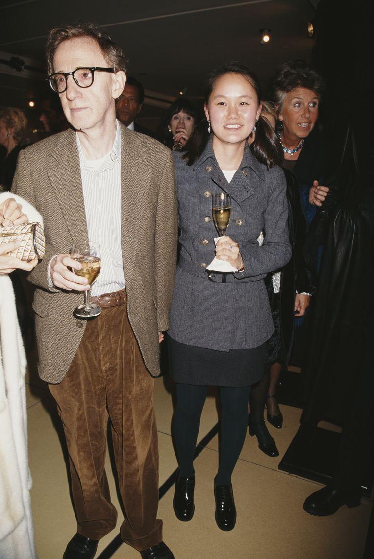 Woody Allen en Soon Yi Previn. Beeld Getty Images
