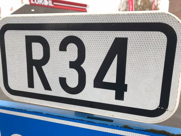 Het ongeval gebeurde op de R34 in Torhout.