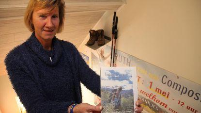 Pelgrim Ruth pent avontuur neer in boek