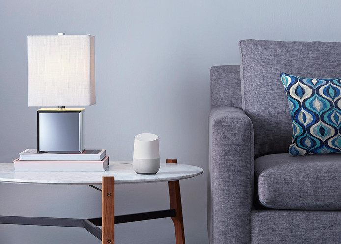 Google's speaker die werkt met de eigen Assistent