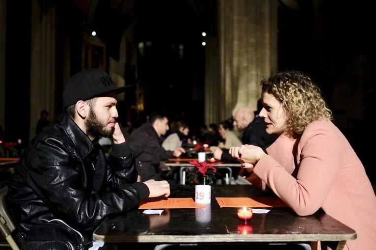 Kassem en Lore konden het goed vinden met elkaar