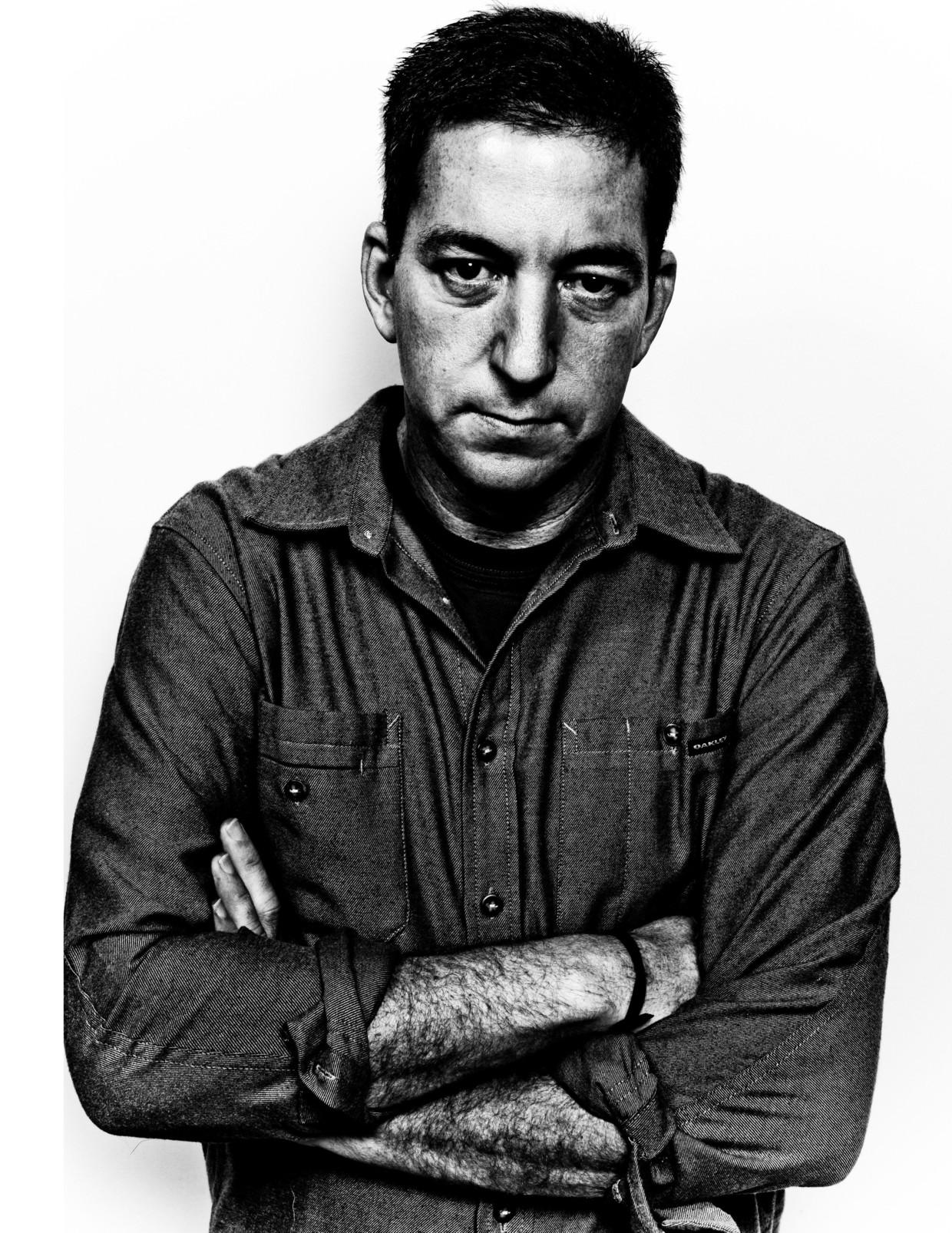 Journalist Glenn Greenwald  Beeld Gabriel Rinaldi/Redux