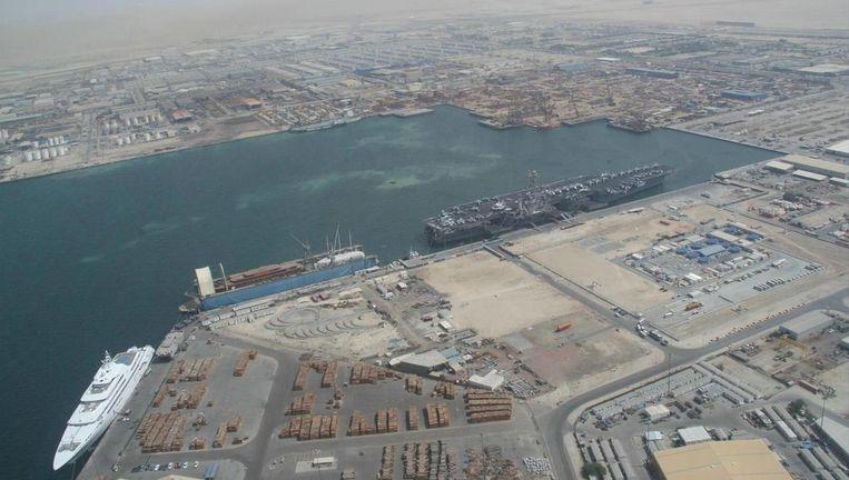 De haven Jebel Ali in Dubai. Beeld Wikipedia