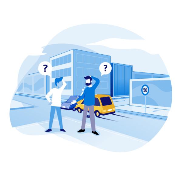 Als u een voorrang van rechts genegeerd hebt of een eenrichtingsstraat langs de verkeerde kant bent ingereden, met een botsing tot gevolg, voelt u de bui wellicht al hangen. De kans is groot dat u aansprakelijk bent voor het ongeval. Maar wat als de situatie een stuk complexer is?