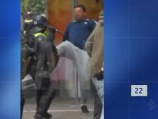 Politie toont beelden van relschoppers na verboden demonstratie op Malieveld