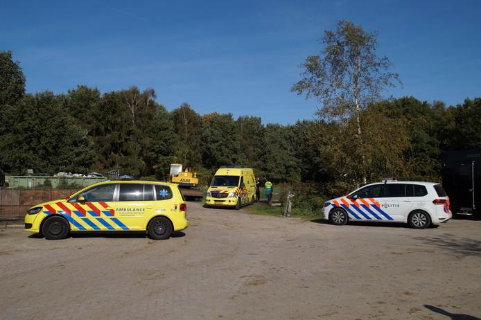 Zwaargewonde gevonden achter paardentrailer bij Natuurpoort van Loon in Loon op Zand