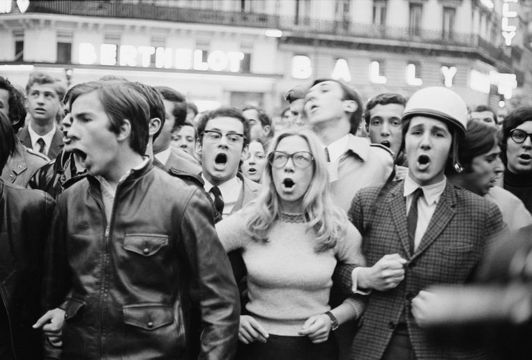 Mei 1968 Beeld Getty Images