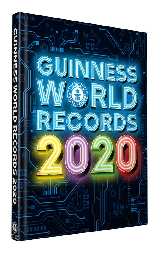 Cover Guinness World Records 2020.