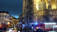 Brandalarm in kathedraal na felle bliksem